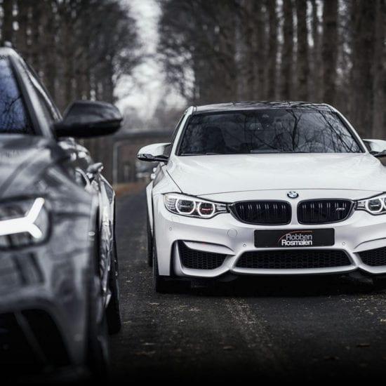 Audi RS6 en BMW M3